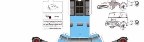 papercraft-bouwplaat-daf-a2000