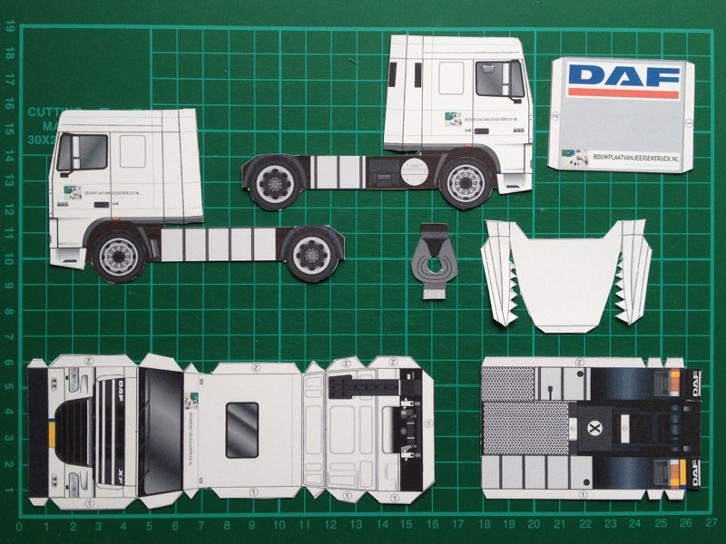 How To Daf Xf 105 on Craft Paper